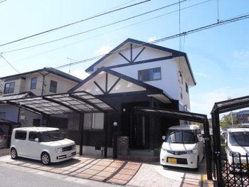 福岡市 H様邸 外壁屋根塗装事例