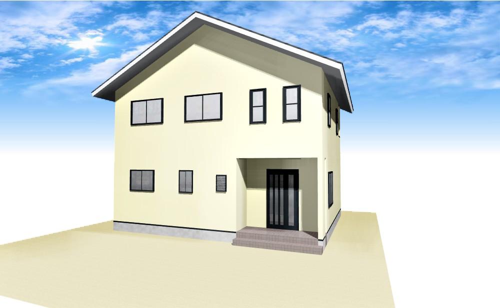 1台用カーポート屋根取付け+外壁塗装A
