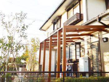朝倉郡筑前町 K様邸 外壁塗装+エクステリア工事事例
